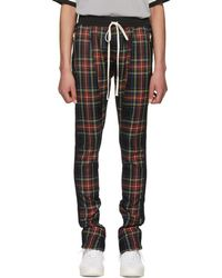 Fear Of God - Multicolor Wool Plaid Trousers - Lyst