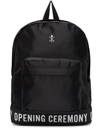 Opening Ceremony - Black Logo Backpack - Lyst