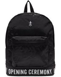 Opening Ceremony - Black Logo Backpack - Lyst