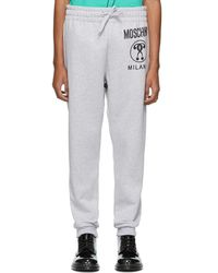 Moschino - Logo Tracksuit Bottoms - Lyst