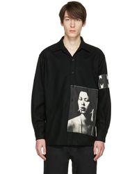 Enfants Riches Deprimes - Black Checkered Graphic Shirt - Lyst
