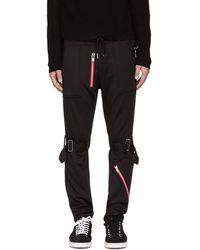 99% Is - Black Bondage Zip Lounge Pants - Lyst