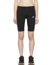 adidas Originals - Black Adicolor Cycling Shorts - Lyst