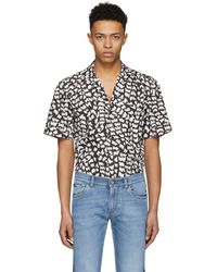 Dolce & Gabbana - Black Brush Stroke Shirt - Lyst