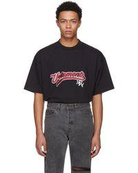 Vetements - Black Bro Logo T-shirt - Lyst