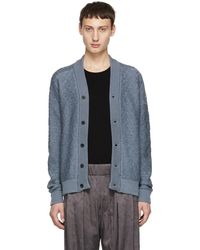 Stephan Schneider - Blue Wool And Mohair Cardigan - Lyst