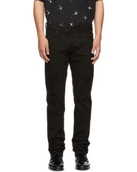 DSquared² - Black Bull Slim Jeans - Lyst