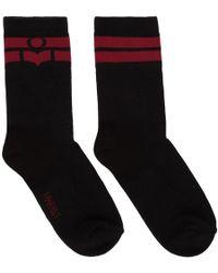 Isabel Marant - Black Vito Socks - Lyst