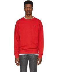 Saturdays NYC - Red Slash Bowery Sweatshirt - Lyst