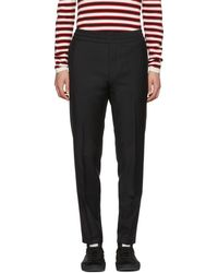 Acne Studios - Black Ryder Trousers - Lyst