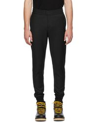 PS by Paul Smith - Black Check Drawcord Trousers - Lyst
