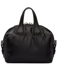Givenchy - Black Small Nylon Nightingale Bag - Lyst