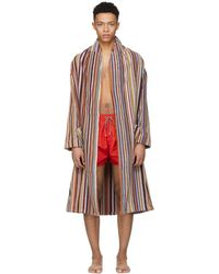Paul Smith - Multicolour Stripe Bath Robe - Lyst