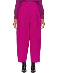 Marc Jacobs - Pink High-waisted Trousers - Lyst