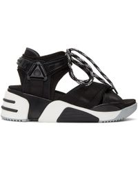 Marc Jacobs - Black Somewhere Sport Sandals - Lyst