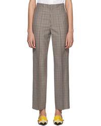 Stripe Detail Trousers - Multicolour Maison Martin Margiela r799BCWa0