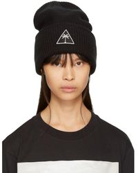 Palm Angels - Black Mitchell & Ness Edition Palm Icon Beanie - Lyst
