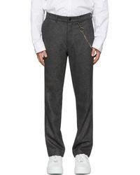 Rochambeau - Grey Pipe Trousers - Lyst
