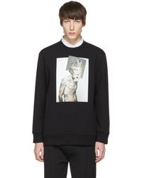 Neil Barrett | Black Hybrid Tattoo Sculpture 02 Sweatshirt | Lyst