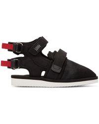 John Elliott - Black Suicoke Edition Closed Toe Sandals - Lyst