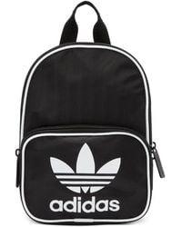 adidas Originals - Black Mini Santiago Backpack - Lyst