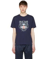 KENZO | Navy Tiger T-shirt | Lyst