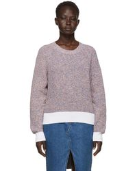 Rag & Bone - Multicolor Wheeler Crewneck Sweater - Lyst