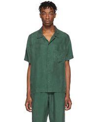 Rochambeau Green Short Sleeve Shirt