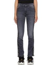 Marcelo Burlon - Black Vintage Skinny Jeans - Lyst