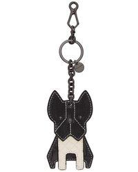 Bottega Veneta - Black Dog Keychain - Lyst