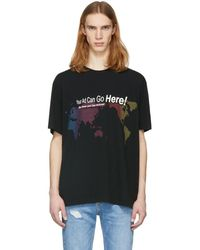 Alexander Wang - Black Your Ad Can Go Here T-shirt - Lyst