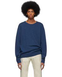 Dries Van Noten - Blue Naples Sweater - Lyst