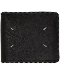 Maison Margiela - Black Cord Bifold Wallet - Lyst