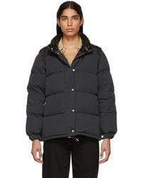 Burberry - Black Down Plymton Jacket - Lyst