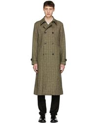 Tiger Of Sweden - Green And Black Fitzroy 3 Coat - Lyst