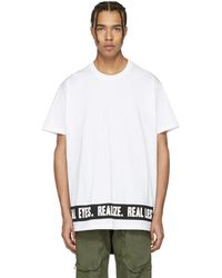 Givenchy - White 'real Eyes' T-shirt - Lyst
