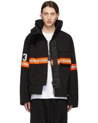 R13 - Black Fireman Jacket - Lyst