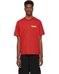 Opening Ceremony - Red Graphic T-shirt - Lyst