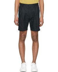 Saturdays NYC - Black Gurkha Shorts - Lyst