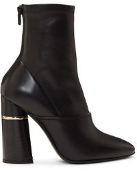 3.1 Phillip Lim - Black Leather Kyoto Boots - Lyst