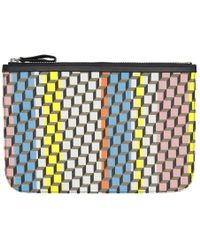 Pierre Hardy - Multicolour Large Cube Pouch - Lyst