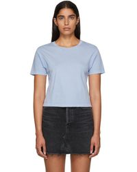 AMO - Blue Babe T-shirt - Lyst
