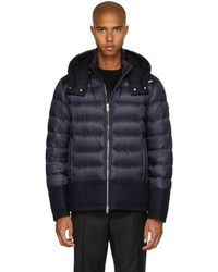 Moncler - Navy Down Riom Jacket - Lyst