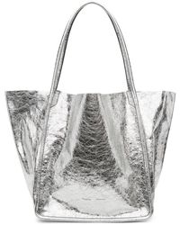 Proenza Schouler - Silver Extra Large Tote - Lyst