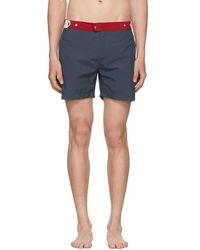 Solid & Striped - Navy And Red The Kennedy Swim Shorts - Lyst