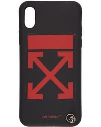 Off-White c/o Virgil Abloh - Black Arrows Strap Iphone X Case - Lyst