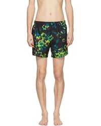 BOSS - Green Frogfish Swimsuit - Lyst