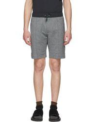Nanamica - Grey Light Sweat Shorts - Lyst