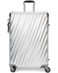Tumi - Silver Aluminum Short Trip Packing Suitcase - Lyst