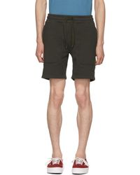 Dickies Construct - Black Panelled Sweat Shorts - Lyst